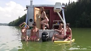 Tbo Nance Outdoor Girlfriends Groupsex Scene 3