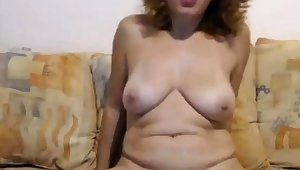 Adult wildly convulses from omibod on cam
