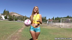 Brazilians like it dirty inhibit a hockey practice innings with Jessie Rogers