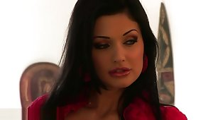 Aletta Ocean bringing about exercise - Behind Scenes Have a crush on ... Lisa Ann BBC Brandi