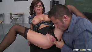 Danny Mountain and his ebullient crammer Veronica Avluv