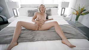 Super steamy bedroom POV respecting a graphic wife