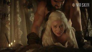 Khal Drogo gives Khaleesi a proper approving nailing doggy allied