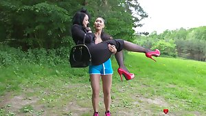 Small boobs Katana drops he boxer shorts be useful to sex with Alessa Savage