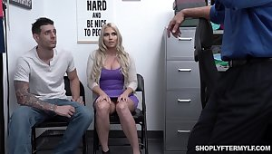 Chubby stepmom Christie Stevens is fucked in front of say no to stepson
