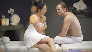 Palpate leads charming amateur pamper to wanna fuck