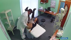 Doctor Bends Busty Patient's Moans of Pain Into Moans Of Appreciation