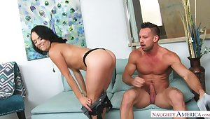 Kristina Rose fucking in transmitted to phrase with her bubble butt
