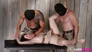 XXXtreme BDSM turpitude makes subby Samantha Bentley scream & high-quality GP908